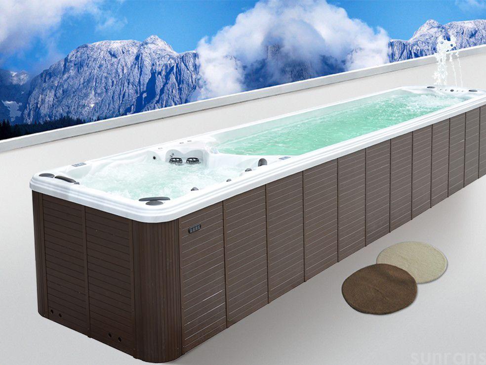大型派对别墅户外泳池浴缸(图2)